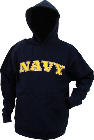 US Navy Hooded Sweatshirts
