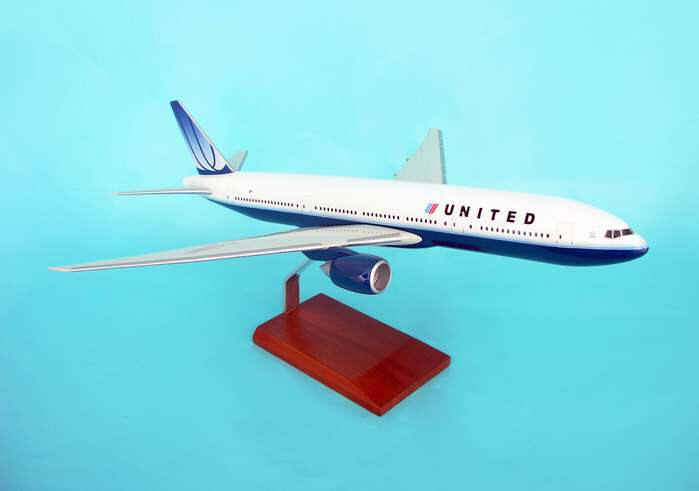 United Air Lines Airplane Models