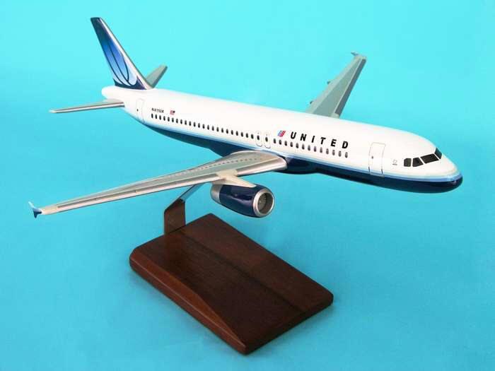 United Air Lines Airplane Models