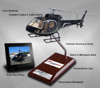 NEW! Custom aircraft models with clear canopy and windows, viewable detailed cockpit and interior.