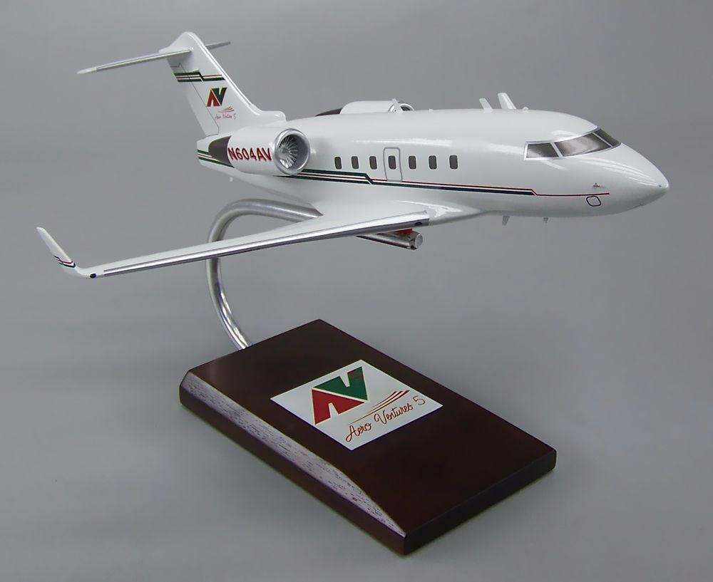 Challenger 604 - Custom Airplane Model & Custom Airplane Models | Private | Military | Corporate | Business
