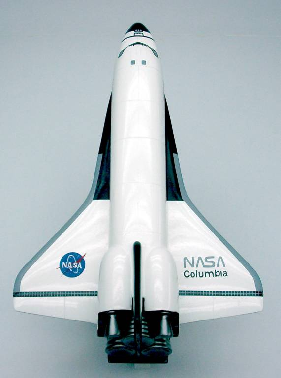 space shuttle columbia model - photo #10