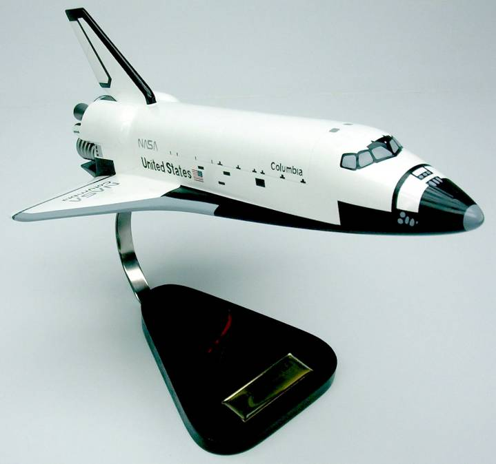 space shuttle columbia model - photo #2