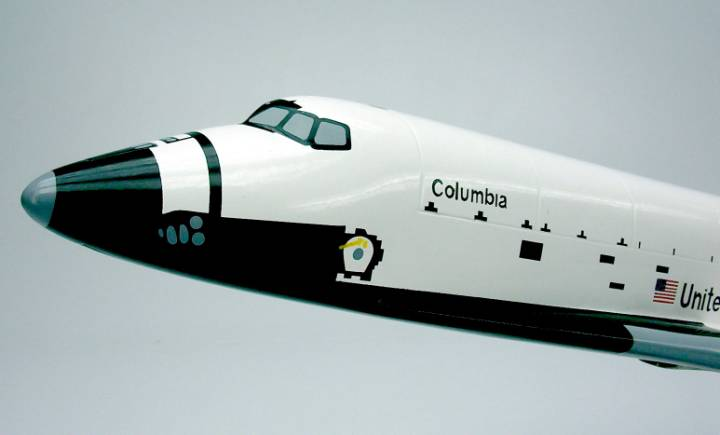 space shuttle columbia model - photo #47