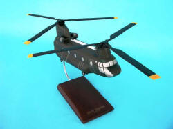 US Army - Boeing-Vertol - CH-47D Chinook Helicopter - 1/48 Scale Mahogany Model - D0248H3W