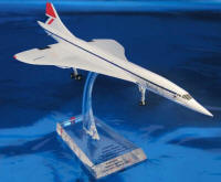 Hogan - British Airways Concorde - 1/200 Early Livery G-BOAA