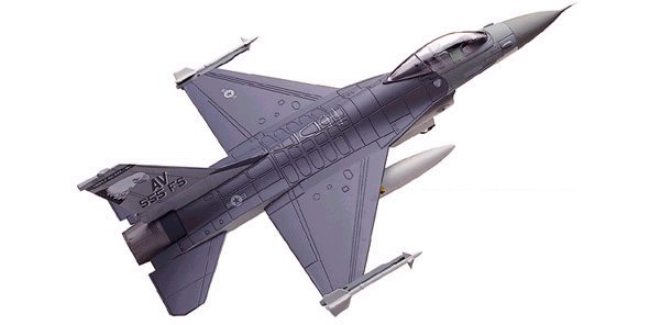 USAF - F-16 Falcon - Triple Nickel - 1/72 Scale Air Command Diecast Model - #SU19011
