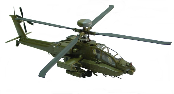 Apache AH-64 Desert Storm Helicopter Model - SU19031