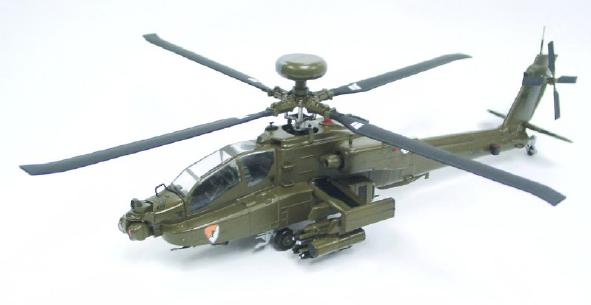 US Army - Apache AH-64D Longbow Helicopter Model - SU19032