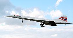 British Airways Supersonic Concorde Jet