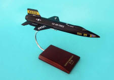 NASA - USAF - North American X-15 - 1/48 Scale Mahogany Model - E1148X3W
