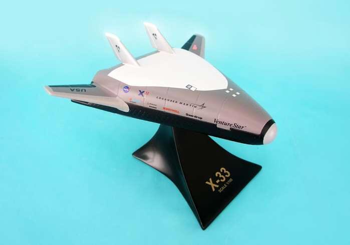 NASA - X-33 Venture Star - 1/50 Scale Desktop Resin Model
