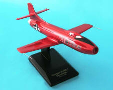 NACA - Douglas - D-558-1 Skystreak - 1/32 Scale Mahogany Model - E3332E3W