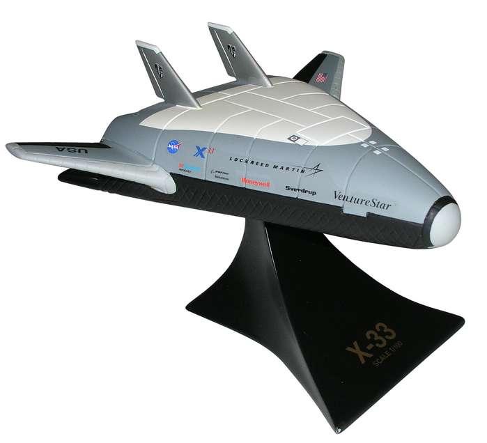 NASA - X-33 Venture Star - 1/100 Scale Desktop Resin Model