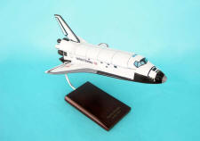 NASA - Space Shuttle Endeavour - 1/100 Scale Large Mahogany Model