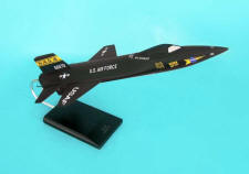 NASA - USAF - North American X-15 - 1/32 Scale Mahogany Model - E5832X3W