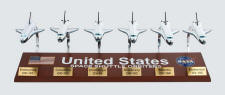 Space Shuttle Fleet Collection - 1/200 Scale - 6 Models