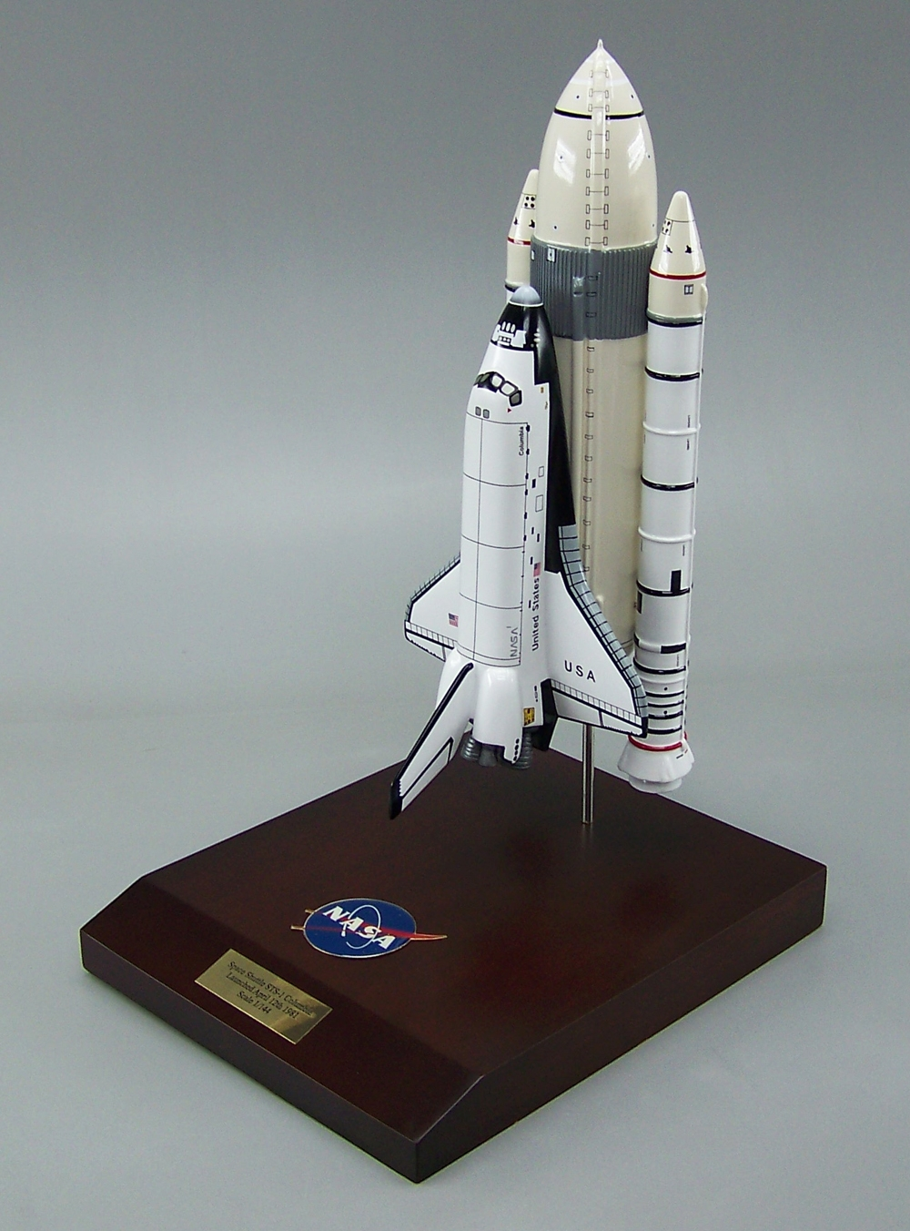 Custom space models nasa private aerospace russian - Small space shuttle model ...