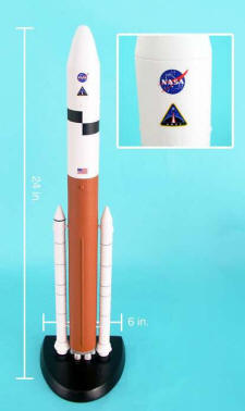 NASA - ARES V (5) Rocket - 1/200 Scale Model