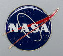 "NASA - 3"" inch Brass Plaque"