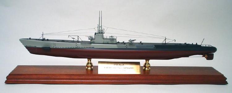Gato Class Submarine Model Uss Barb 1 150 Scale