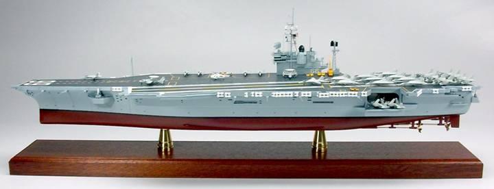 uss america cv 66 1 350 aircraft carrier model
