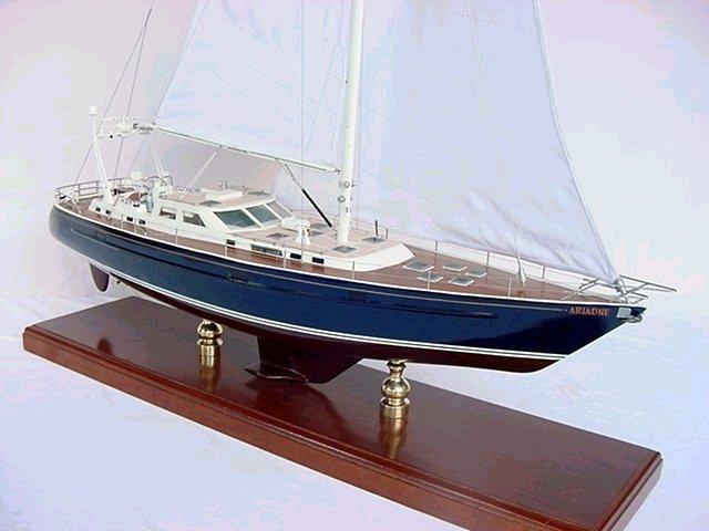 Custom Finya Sailboat Model