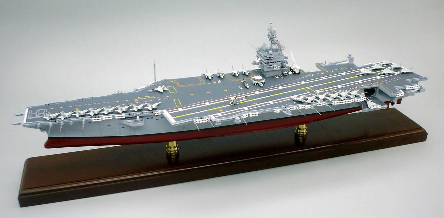 Aircraft carrier models large scale - Uss Enterprise Cvn 65 Scale 1 430