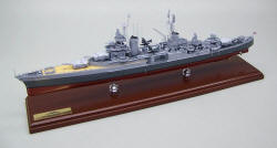 USS Indianapolis CA-35 - 1945 - Scale: 1/260