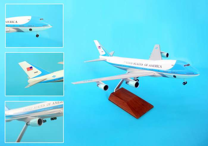 Skymarks - Air Force One - VC-25A 747-200 - 1/250 Scale Plastic Model
