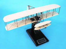 First Flight - Wright Flyer - Kitty Hawk - Wright Brothers - Wilbur & Orville Wright - 1/24 Scale Mahogany Model - Elite Skywarrior- ESAG018W