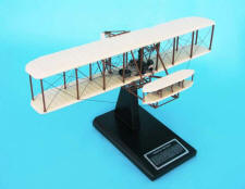 First Flight - Wright Flyer - Kitty Hawk - Wright Brothers - Wilbur & Orville Wright - 1/32 Scale Mahogany Model - Elite Skywarrior- ESAG024W