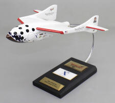 Space Ship One Model - 1/32 Scale Large Mahogany SpaceShipOne