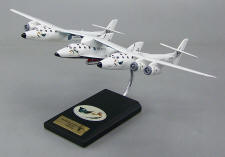 SpaceShipTwo & WhiteKnightTwo - 1/84 Scale Model
