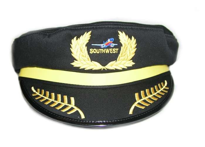 Kids Southwest Airlines Pilot Cap