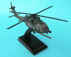 US Air Force - Sikorsky MH/HH-60G Pave Hawk - 1/40 Scale Mahogany Helicopter Model - B8240H3W